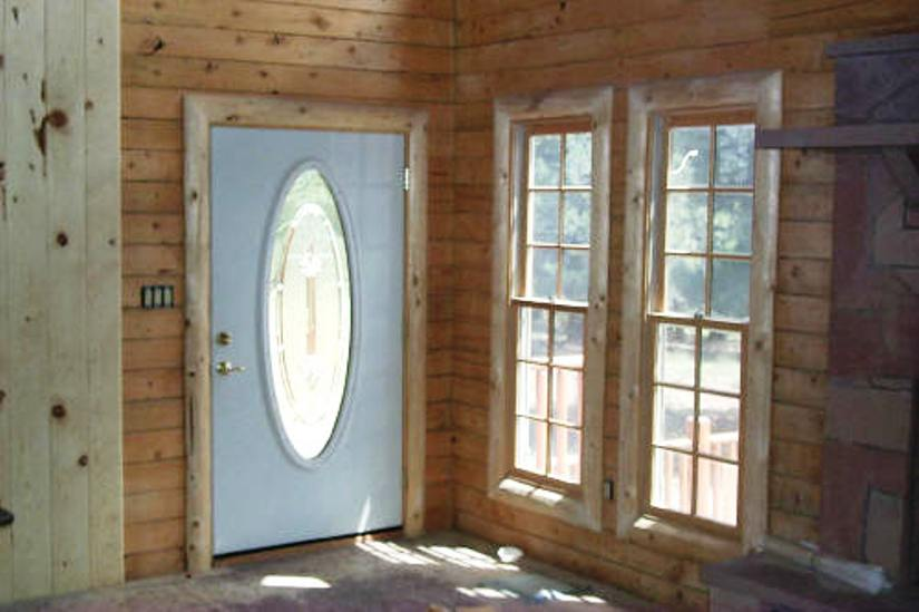 n door ralng nteror ralng desgns ron.htm a beautiful log cabin log railing log window trim log door trim  log cabin log railing log window trim