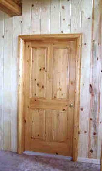 beautiful log cabin log railing log window trim log door trim