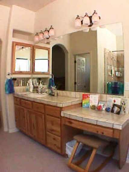 Bath Bathroom Sw Vigas Latillas Pine Poles Az Arizona Hand
