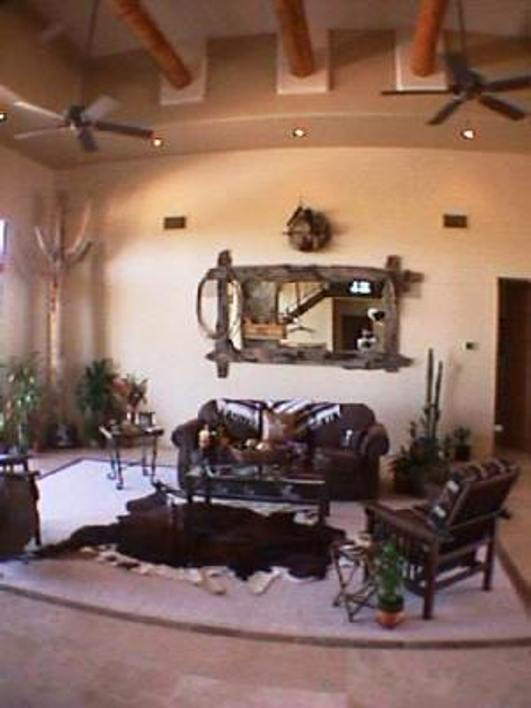 Living Rooms Sw Living Room Southwest Great Room Vigas
