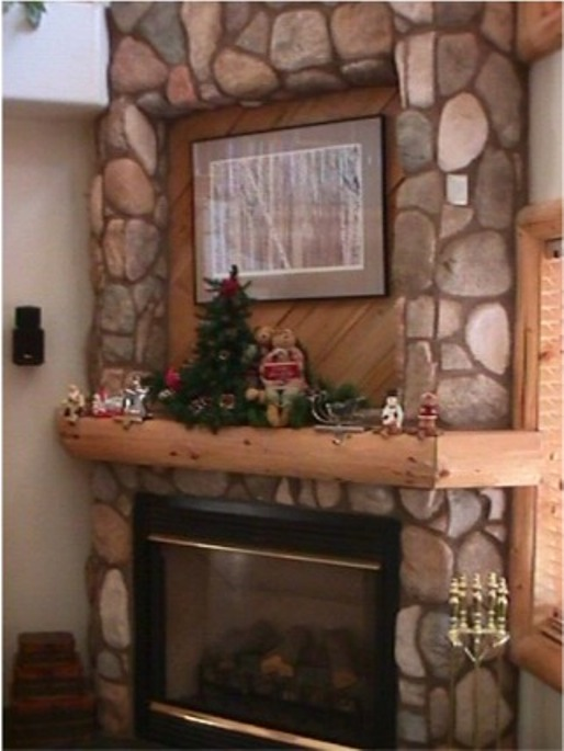 Rustic Southwest Fireplace Mantel Constructed Of Hand Led Engelman Spruce Uses A Wrap