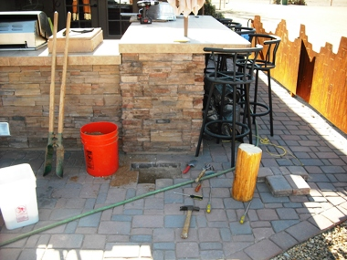 Patio Project Sw Vigas Latillas Pine Poles Az Arizona Hand