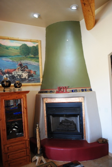 Can Tile Be Painted >> Fire place Mantels